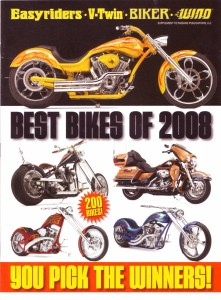 Best bikes of 2008